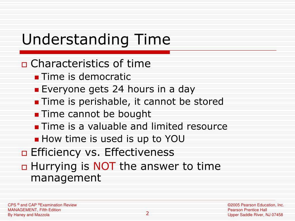 Understanding Time