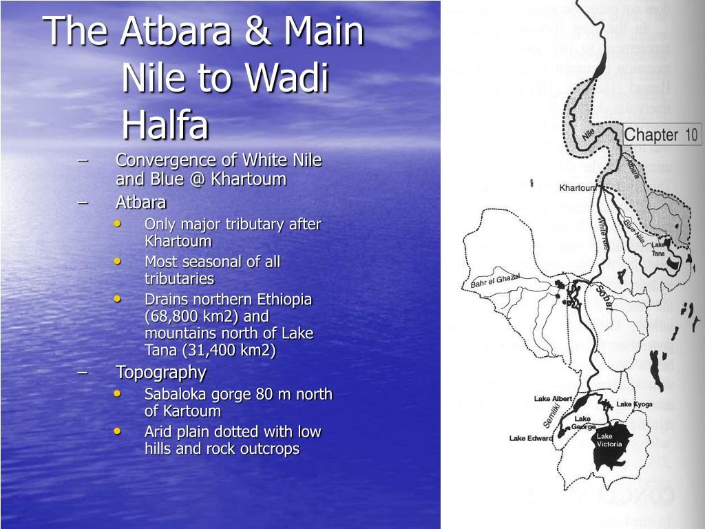 The Atbara & Main Nile to Wadi Halfa