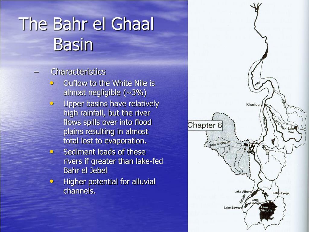 The Bahr el Ghaal Basin