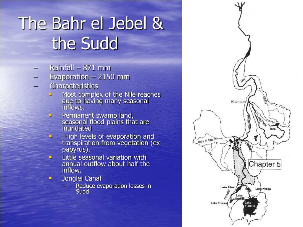 The Bahr el Jebel & the Sudd