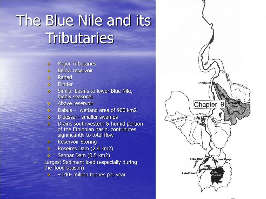The Blue Nile and its Tributaries