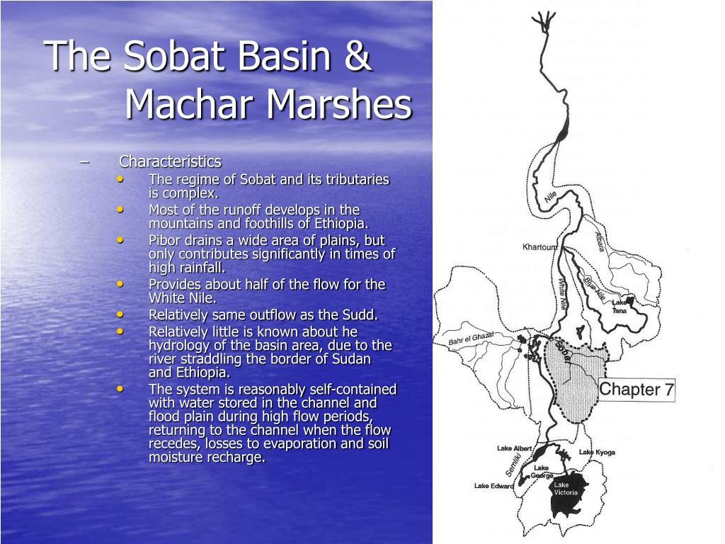 The Sobat Basin & Machar Marshes