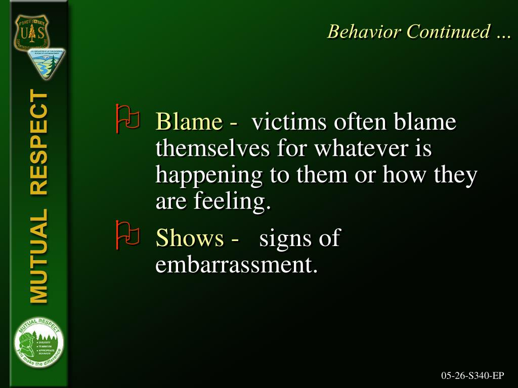 Behavior Continued …