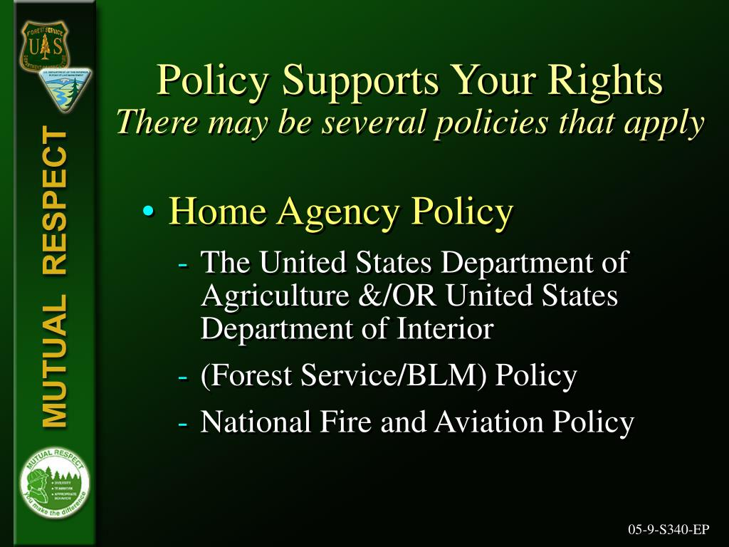 Policy Supports Your Rights