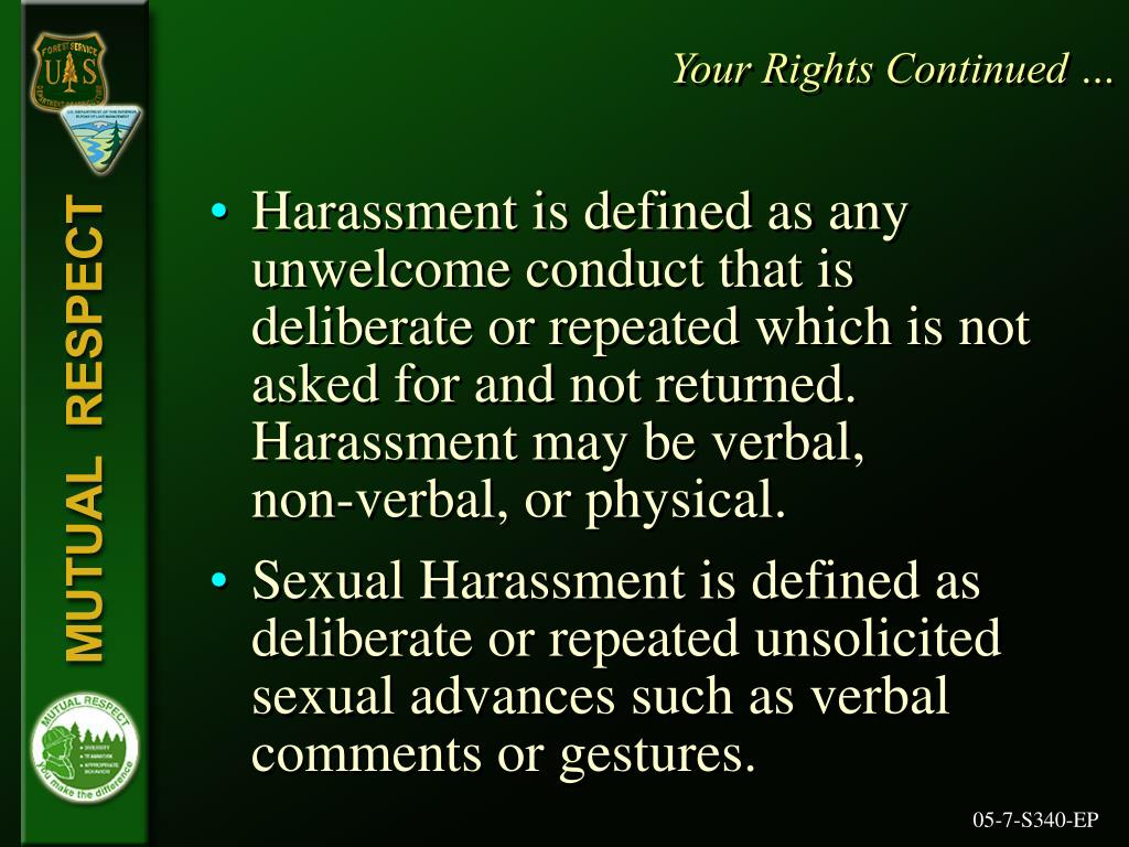 Your Rights Continued …
