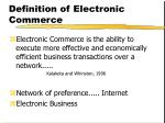 definition of electronic commerce