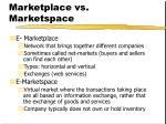marketplace vs marketspace