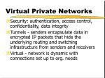virtual private networks29