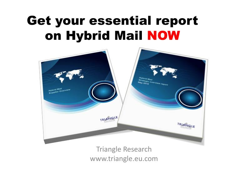 Get your essential report on hybrid mail now