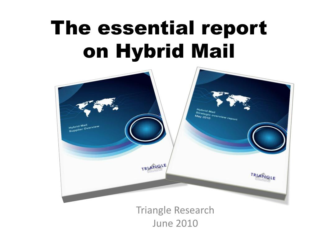 The essential report