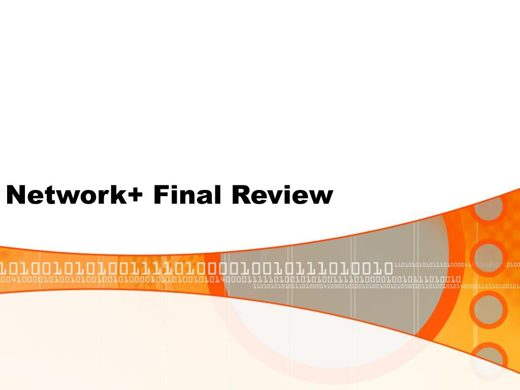 network final review l.