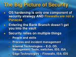 the big picture of security