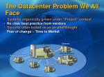 the datacenter problem we all face