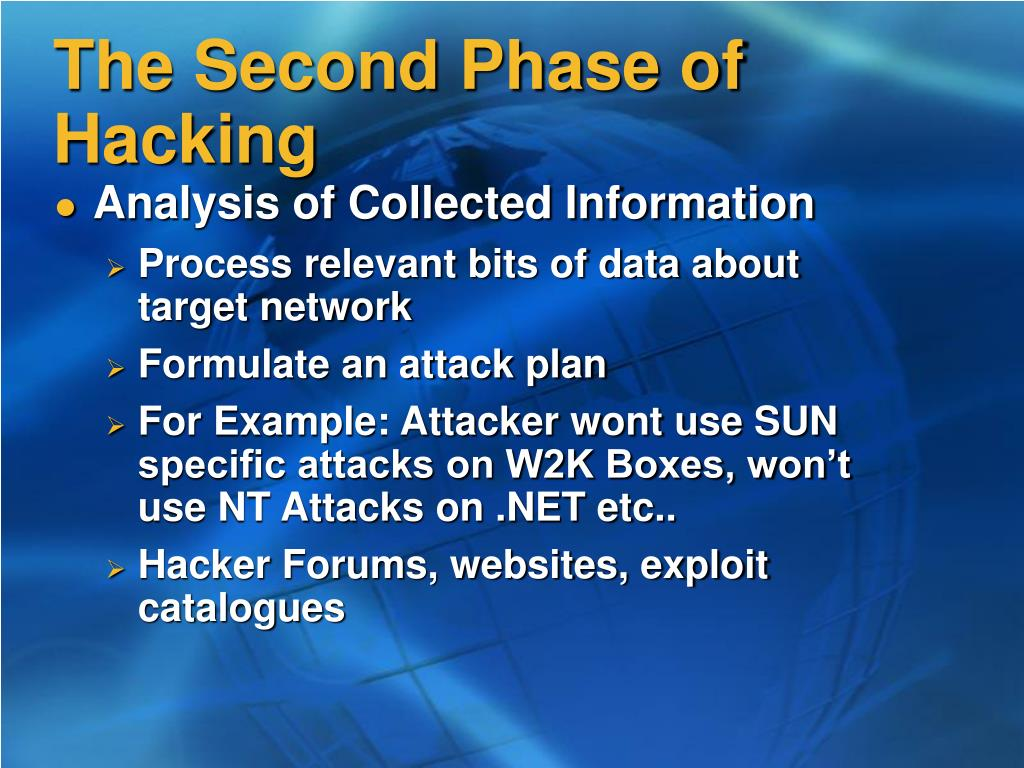The Second Phase of Hacking