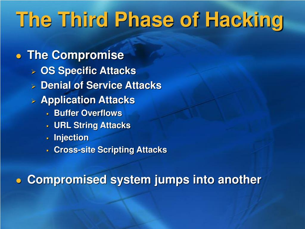 The Third Phase of Hacking