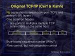 original tcp ip cerf kahn