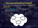 the internetworking problem