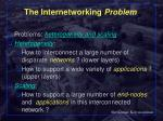 the internetworking problem9