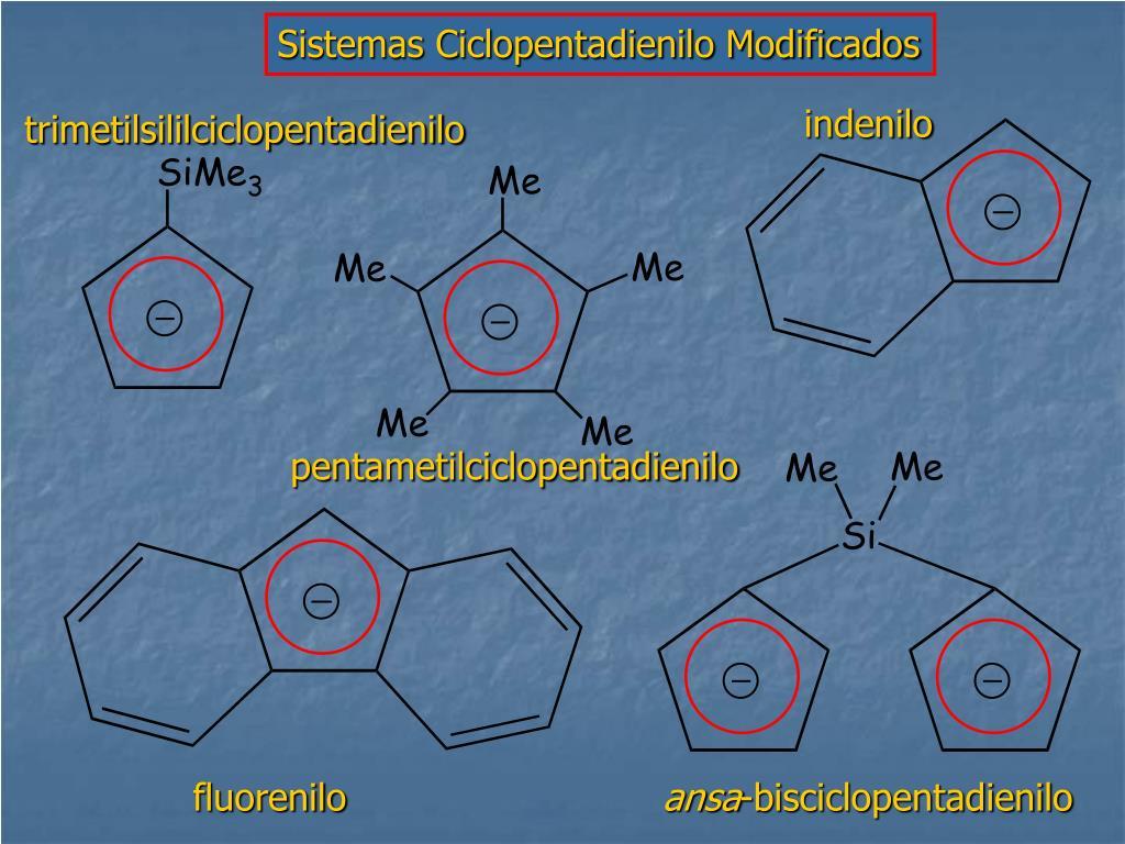 Sistemas Ciclopentadienilo Modificados