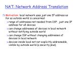nat network address translation35