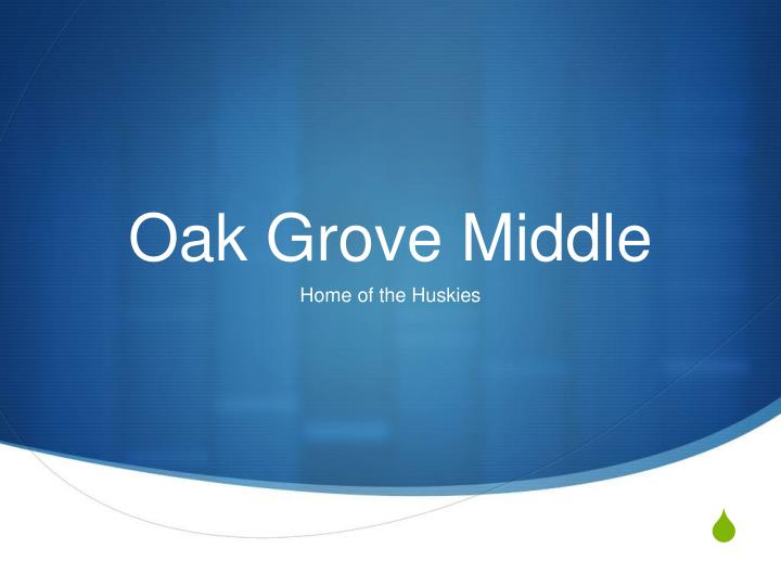 oak grove middle n.