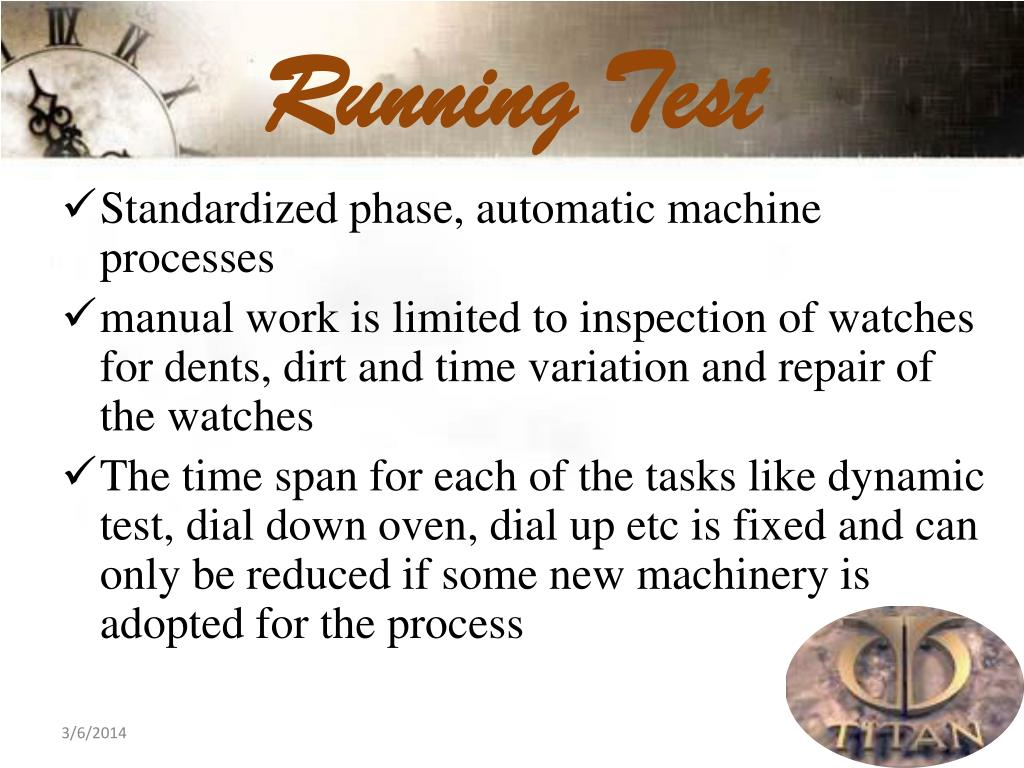 Running Test