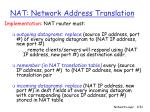 nat network address translation51