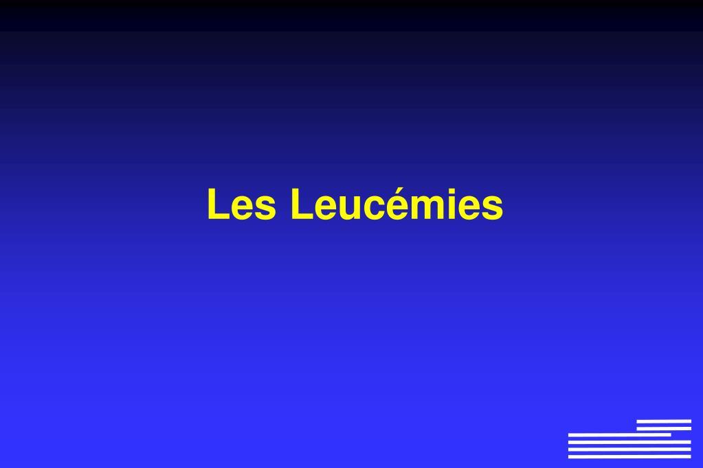 Les Leucémies