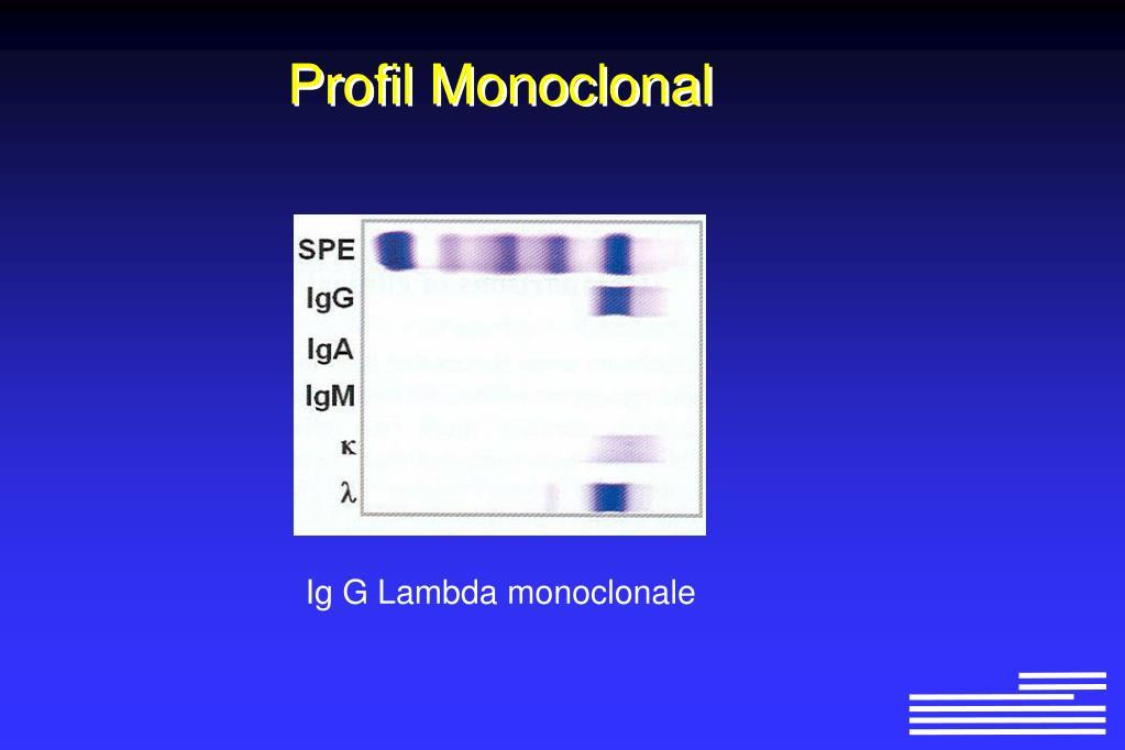 Profil Monoclonal