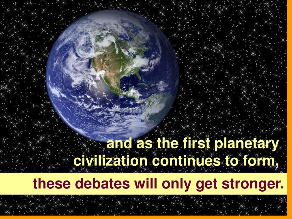 and as the first planetary