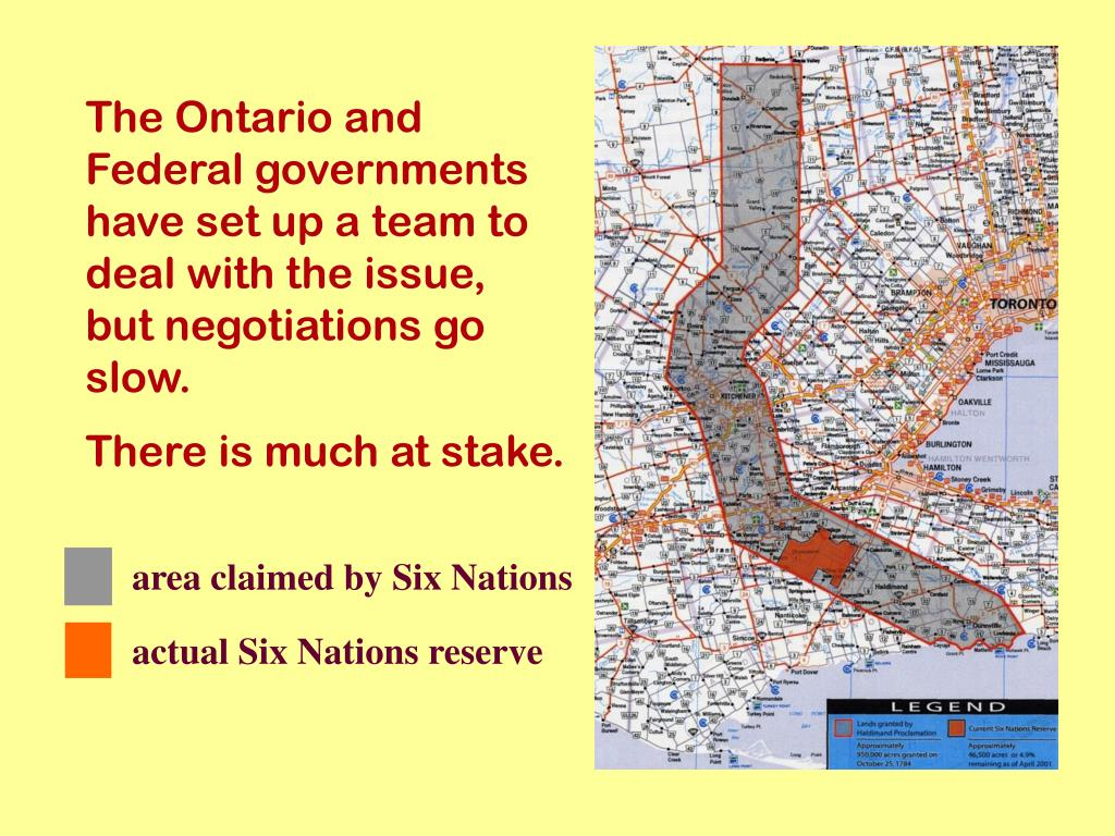 The Ontario and Federal governments have set up a team to deal with the
