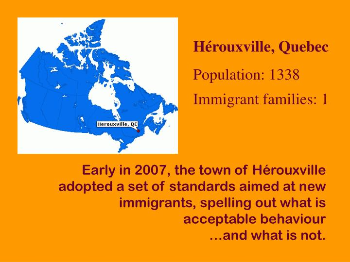 Hérouxville, Quebec