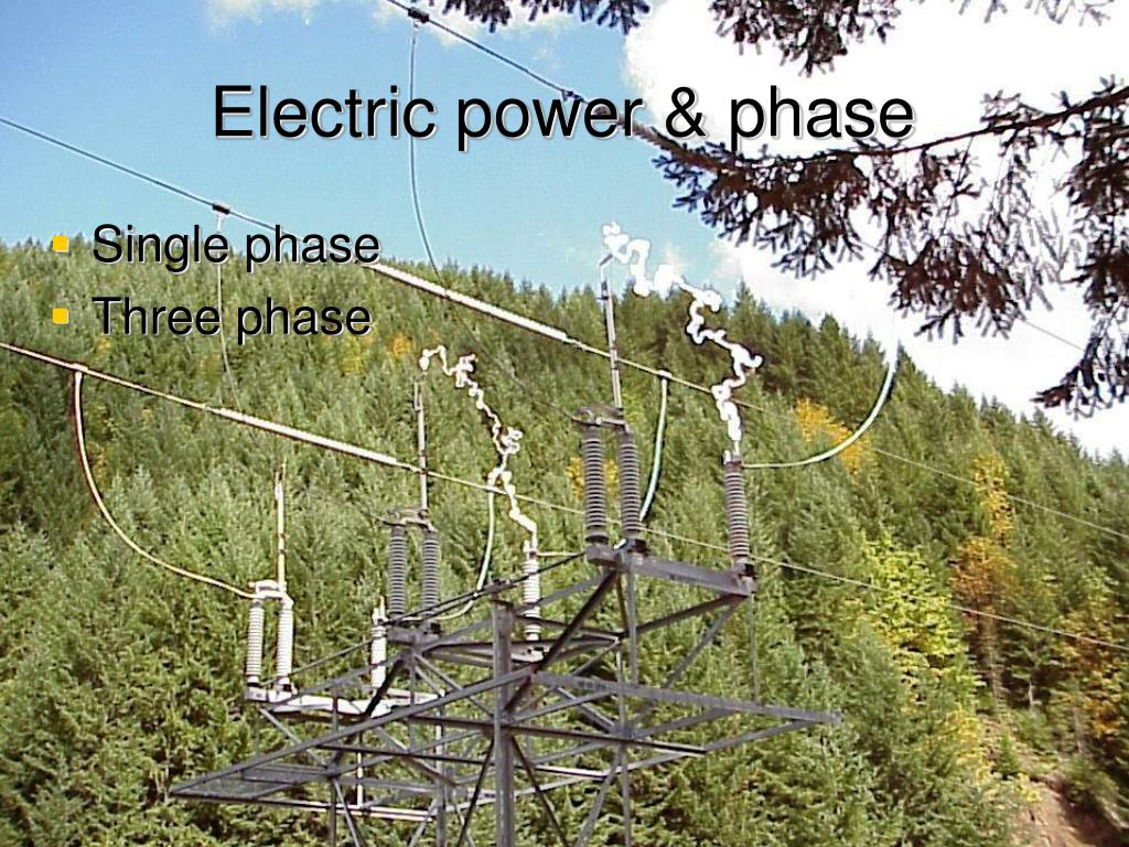 Electric power & phase