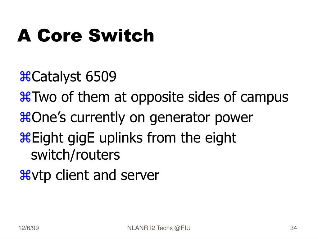 A Core Switch