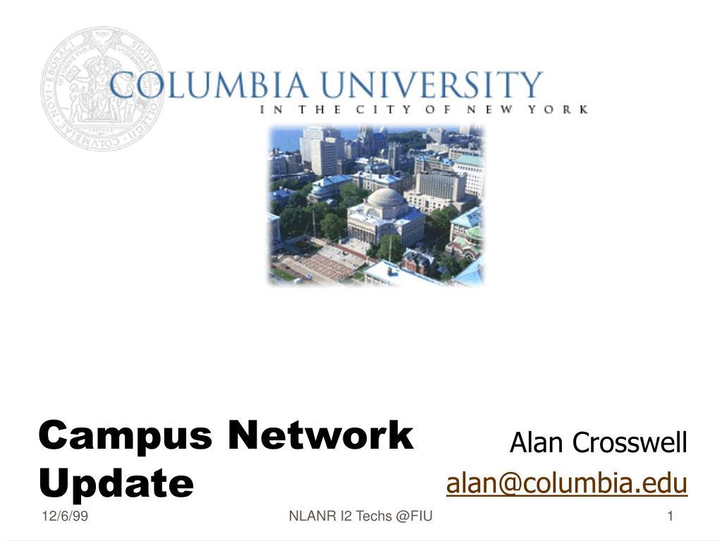 campus network update l.