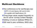 multicast backbone45