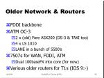 older network routers