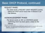 basic dhcp protocol continued9