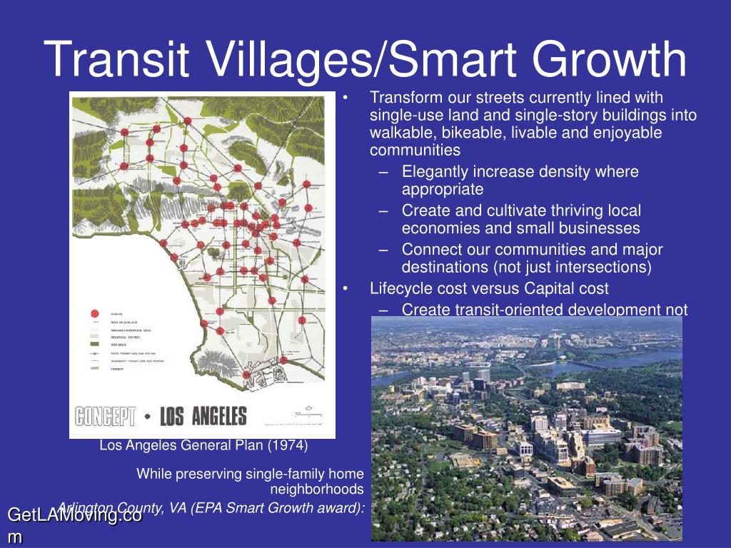 Transform our streets currently lined with single-use land and single-story buildings into walkable, bikeable, livable and enjoyable communities