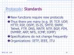 protocols standards