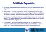 solid state degradation13