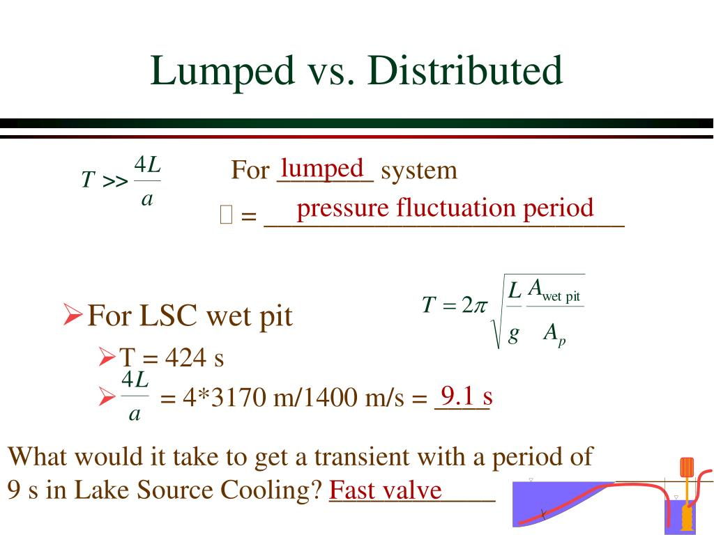 Lumped vs. Distributed
