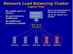 network load balancing cluster logical view