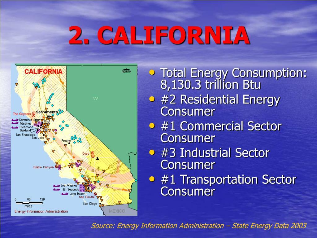 2. CALIFORNIA