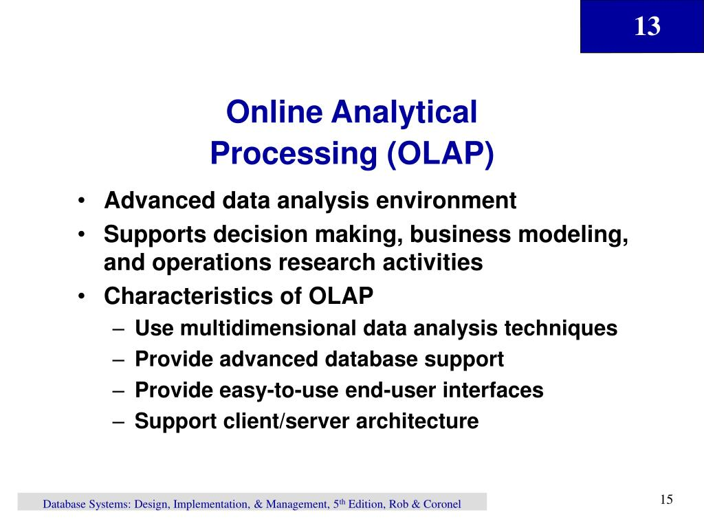 Online Analytical
