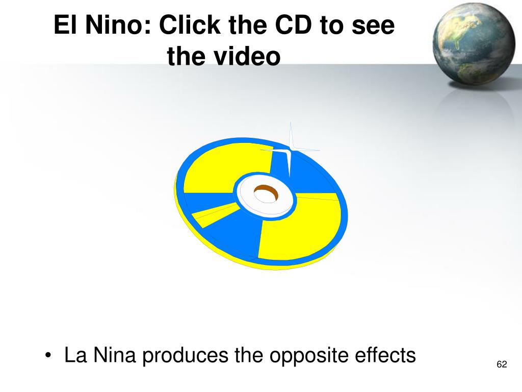 El Nino: Click the CD to see the video