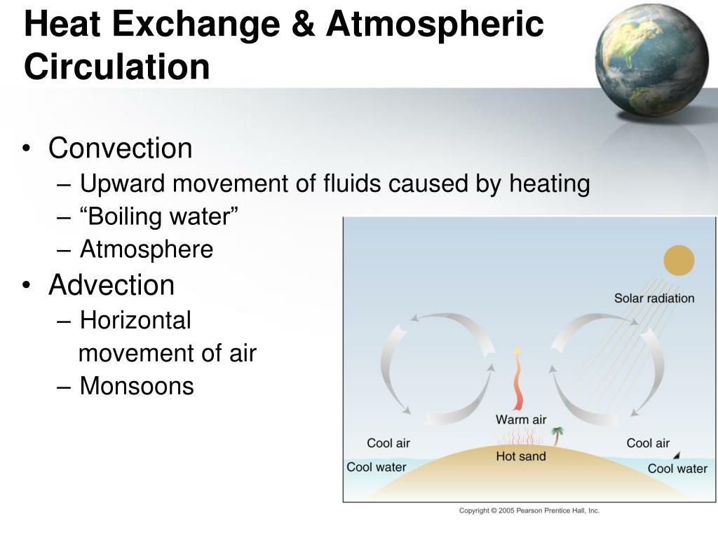 Heat Exchange & Atmospheric Circulation