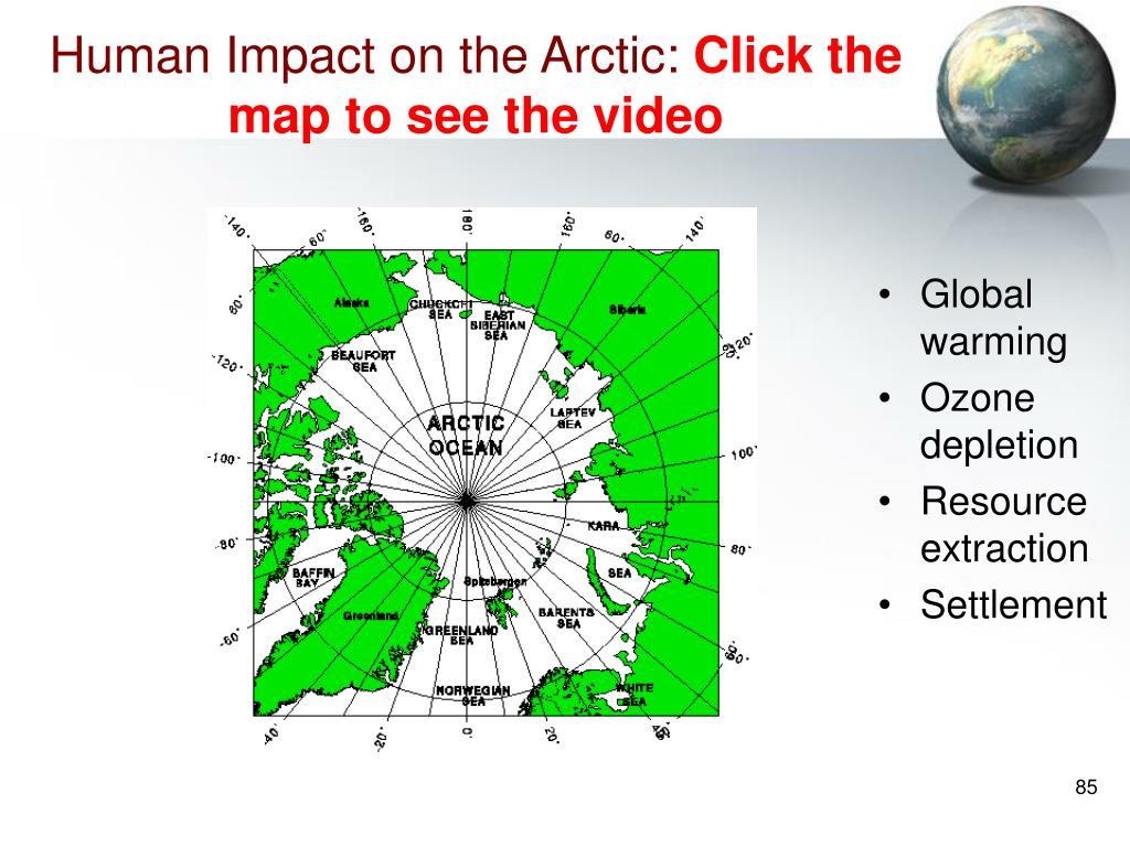 Human Impact on the Arctic: