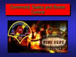 command safety and scene control