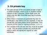 3 ca private key17